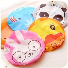 cute cartoon fashion bath shower cap Japanese portable waterproof shower cap shampoo cap thickening cartoon fashion shower cap(China)