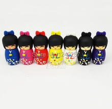 USB Flash Drive 64G Pen Drive 32G Pendrive 16G 8GB 4GB New Style Japanese Doll Toy Hot Sale Pendrive Usb2.0 U Disk Free Shipping
