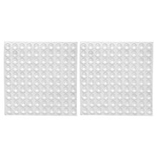 200x transparent rubber feet adhesive bumper pads self stick bumpers sound dampening door cabinet buffer pads 825mm