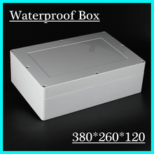 380*260*120mm plastic enclosure for electronic junction box connection box ip68 plastic waterproof enclosure