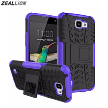 ZEALLION For LG K4 G4 play V20 X Power X Style X Max K8 Stylus 3 2017 Case Shockproof Silicone Hard Plastic Shell Stand Cover