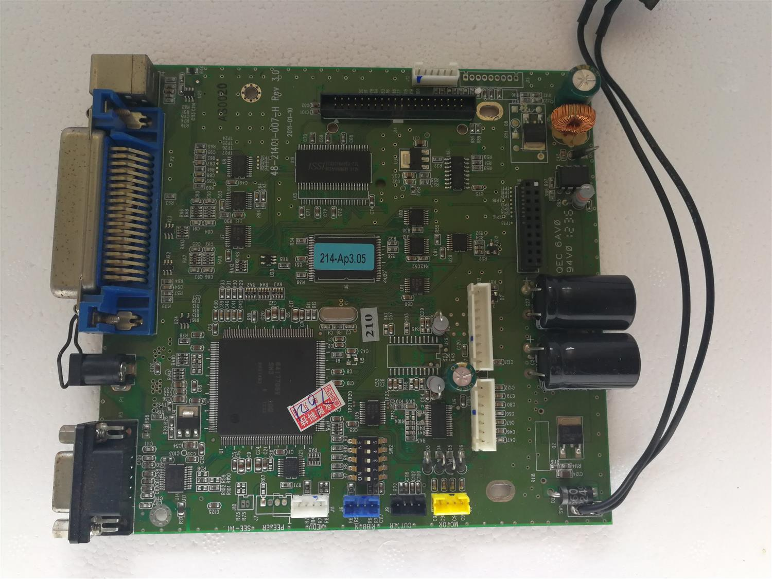 original disassemble For ARGOX OS-214 PLUS motherboard motherboard interface board<br>