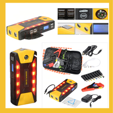 portable car jump starter multi function power bank bateria battery 12V charger auto start booster for Petrol and Diesel(China)