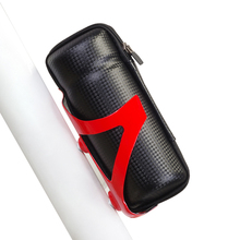 Bicycle Front Frame Tube Tools Bag Sport Cycling Bike Capsule Storage Bags Cycling Bicycle Repair Tool Box Carbon fiber Pattern()