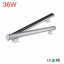 New 1M 36W LED Wall Washer Landscape light DC 24V/12V AC 85V-265V outdoor lights wall linear lamp floodlight 100cm wallwasher