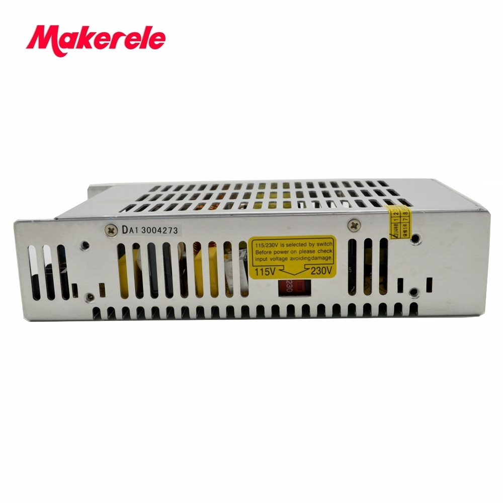 Low cost single output type professional 250W 15V 16.5A Switching Power Supply AC to DC with CE from china factory<br>