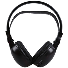 Wholesale5pcs*Infrared Stereo Double-channel Wireless Headphone Headset IR Car Headrest DVD Player