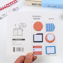 Free ship!1lot=40set!The new creative memo pad / cute Sticker note /paper message note/post-it/ writing scratch pads(China)