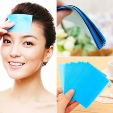 200pcs Tissue Papers Pro Powerful Makeup Cleaning Oil Absorbing Face Paper 4 pack Oil Blotting Sheets Facial Cleaner Face Tools(China)