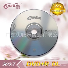 25 discs Less Than 0.3% Defect Rate Grade A 8.5 GB Blank Printed DVD+R DL Disc