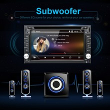 Android6.0 Universal 2 din Car DVD Player Radio GPS Navigation Bluetooth double din touch screen car stereo RDS analog TV