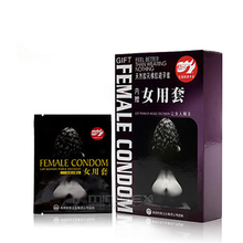 Davidsource Pleasure More Female Condom 1 Box Ultrathing Condoms Female Contraception Adult Sex Products