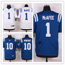 Mens 1 Pat McAfee Jersey 2017 Rush Salute to Service High Quality Football Jerseys(China)