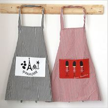 HOT!86*59cm Women Restaurant Home Kitchen British Style apron Flower Printed Pocket Lace Cooking Cotton Apron A031