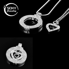 New Valentine Days Gifts Stairway To Heaven Women Pendant Necklace Couples Necklace Fashion Men Women Jewelry Collares mujer