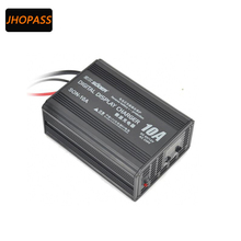 LCD Intelligent 6V/12V 10A Full Automatic Smart Fast Battery Charger For Car/ Motorcycle(China)