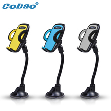 Cobao Universal long mobile phone holder stand& Cellphone stent &Car support for iphone samsung xiaomi/mobile phone accessories(China)