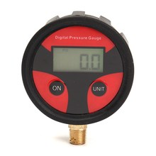 NPT1 / 8 Thread Auto Motorcycle Car Cycle Truck Tire LCD Digital Pressure Gauge For PSI /BAR /KPA /KGF(China)