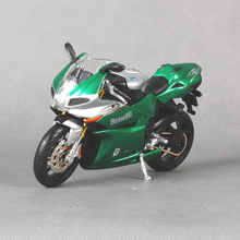 Maisto 1/12 Motorcycle Model Benelli Tornado 1130 Mteal Diecast With Box Green Motor Bike Kids Collections Gift(China)