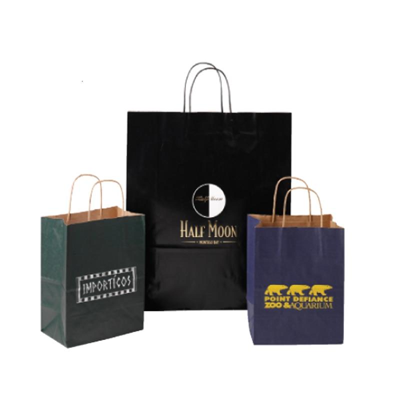 qqq kraft paper shipping bag