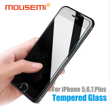MOUSEMI Tempered Glass For iPhone 6S 7 6 Plus 4 5S, Protective Anti-Knock Premium Hard Cover Glass For iPhone 6 Screen Protector