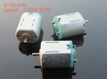 high quality metal 4.5v 22000rpm DC motor N10 Micro DC Motor for Science and Technology Making model aeroplane and car