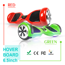6.5inch Bluetooth Hoverboard Self Balancing Electric Skateboard Hover Board gyroscope Electric Scooter standing Scooter(China)