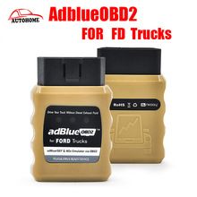 2016 Emulador Adblue Emulator AdblueOBD2 For FD Trucks Scanner Diesel Heavy Duty Truck Scan Tool OBD2 Plug free china post ship