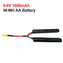1600mah 9.6v cells NI-MH 2/3A battery nimh  Rechargeable battery pack 10C discharge for MINi Tamiya with AWG16