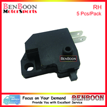 5 Pcs/pack Handle Brake Switch Right Side for GY6 50cc 139QMB Engine Chinese Scooters ATV Sunl Romet Roketa Taotao Baotian Znen