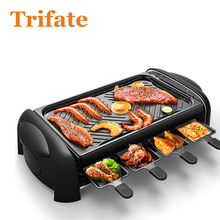 KL-J4300 Household Barbecue Grill Electric Hotplate Smokeless Grilled Meat Pan Electric Grill Electric Griddle