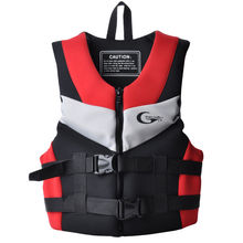 Yonsub Neoprene Lifevest Beach Drifting Surfing Fishing Rafting Kids and Adult Floating Lifejacket Three Color