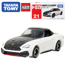 Tomy Tomica Alloy Family Fiat Abarth Acousto optic Toys Car Classic Alloy Antique Car Model children christmas gift(China)