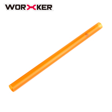 Worker 30CM Plastic Threaded Pipe Modified Barrel Extension for Nerf - Orange