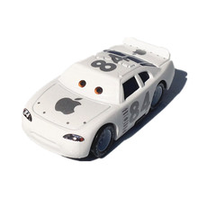 Disney Brand New Original 1:55 Scale Pixar Cars 2 Toys Apple Car  Diecast Metal Pixar Car Toy For Kids Lightning McQueen