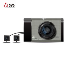 Long vehicle video recorder truck dvr with two blind zone cameras  wholesale price FREE SHIPPING