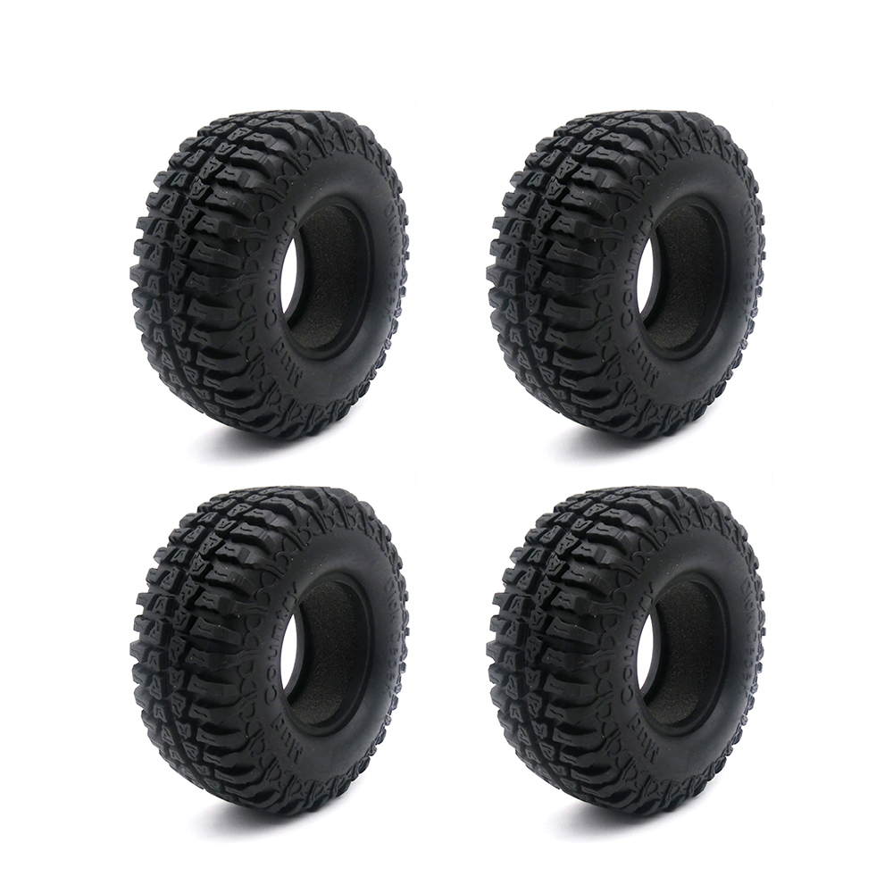4PCS Austar 1.9 Rubber Tyre / Wheel Tires for 1:10 RC Rock Crawler Axial SCX10 Tamiya CC01 RC4WD D90 RC Climbing Car Parts<br><br>Aliexpress