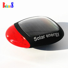 BOFAMES Bicycle Taillights Solar Energy Rechargeable MTB Road Cycling Rear Lights Waterproof 3 Modes Bike Warning Lamp