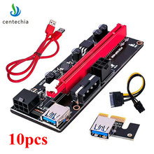 Buy 009s PCIe Riser PCI-E 1x 16x Extender USB3.0 Cable SATA 6Pin 4pin molex SATA Power riser card ETH Dogecoin Mining GHMY for $42.99 in AliExpress store