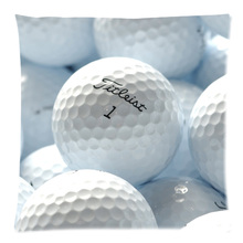 Golf Ball Home Sofa Decorative Cushion Cover Throw Pillow Case Custom Cotton Linen Square Cushion Case 45X45CM