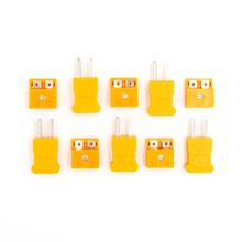 5 pair K Type male female mini Connectors plug Thermocouple Temperature Sensors New(China)