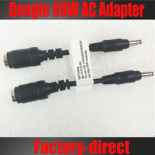 For HP 414136-001 Dongle 90W AC Adapter cable Converter DC 7.4X5.0mm to 4.8X1.7mm 100PCS/lot