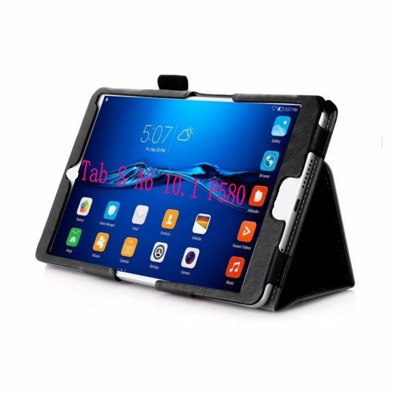 Slim Holding Card slot stand Cases For Samsung Galaxy Tab A 10.1 S-Pen Versions P580 P585 SM-P580 Tablet Case PU Leather Cover<br><br>Aliexpress