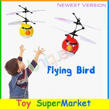 Flying Bird Mini RC Remote Control Helicopter Quadcopter Floating Ball Flying Toys Flying Fairy Doll UFO Drone Best Gift for Kid