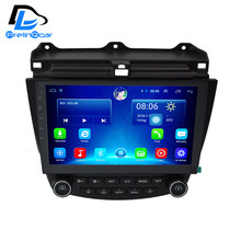 32G ROM android 6.0 car gps multimedia video radio player in dash for Honda Accord 7 generation 2003-2007 car navigaton stereo(China)