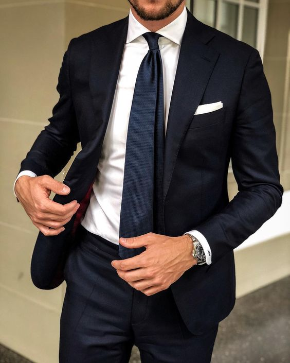2019 Mens Suits With Pants Black Slim Fit Blazer Mascuslino Street Casual Men Suits For Wedding Custom Business 2 Piece Suit