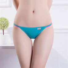 Buy 4 pcs Hot Sale! Solid Modal Fiber Sexy Women's Panties Underwear Every day Briefs Low Rise Panties Candy Color Lingerie Size M/L