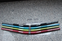 free shipping HONSUN FR/DH/XC down hill riser handlebar 31.8*790mm red black blue green