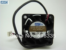 AVC DB03828B 12U 38mm 38*38*28MM 3828 12V  dual ball fan mini micro cooling fan