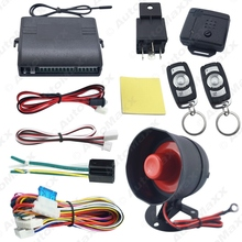 Car Alarm Security System Manual Reset Button Function Burglar Alarm Protection with 2 Remote Control #J-2224